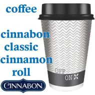 Coffee: Classic Cinnamon Roll