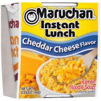 Maruchan Instant Lunch: Cheddar Cheese Flavor
