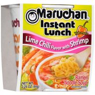Maruchan Instant Lunch: Lime Chili Flavor with Shrimp